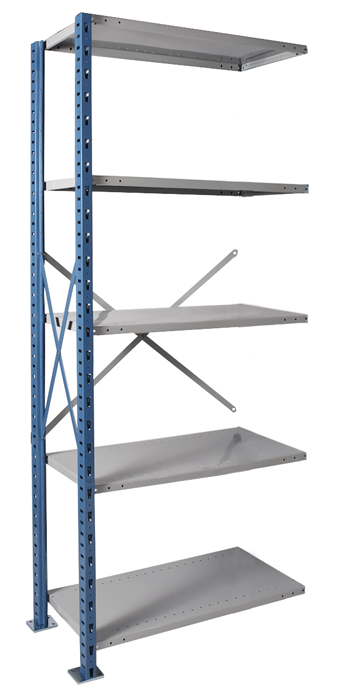 Steel Heavy Duty Shelving By Hallowell High Capacity Shelving H Post Open Type